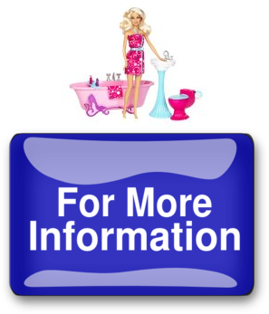 to barbie glam bathroom furniture and doll set